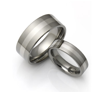 titanium tungsten wedding bands mens wedding ring