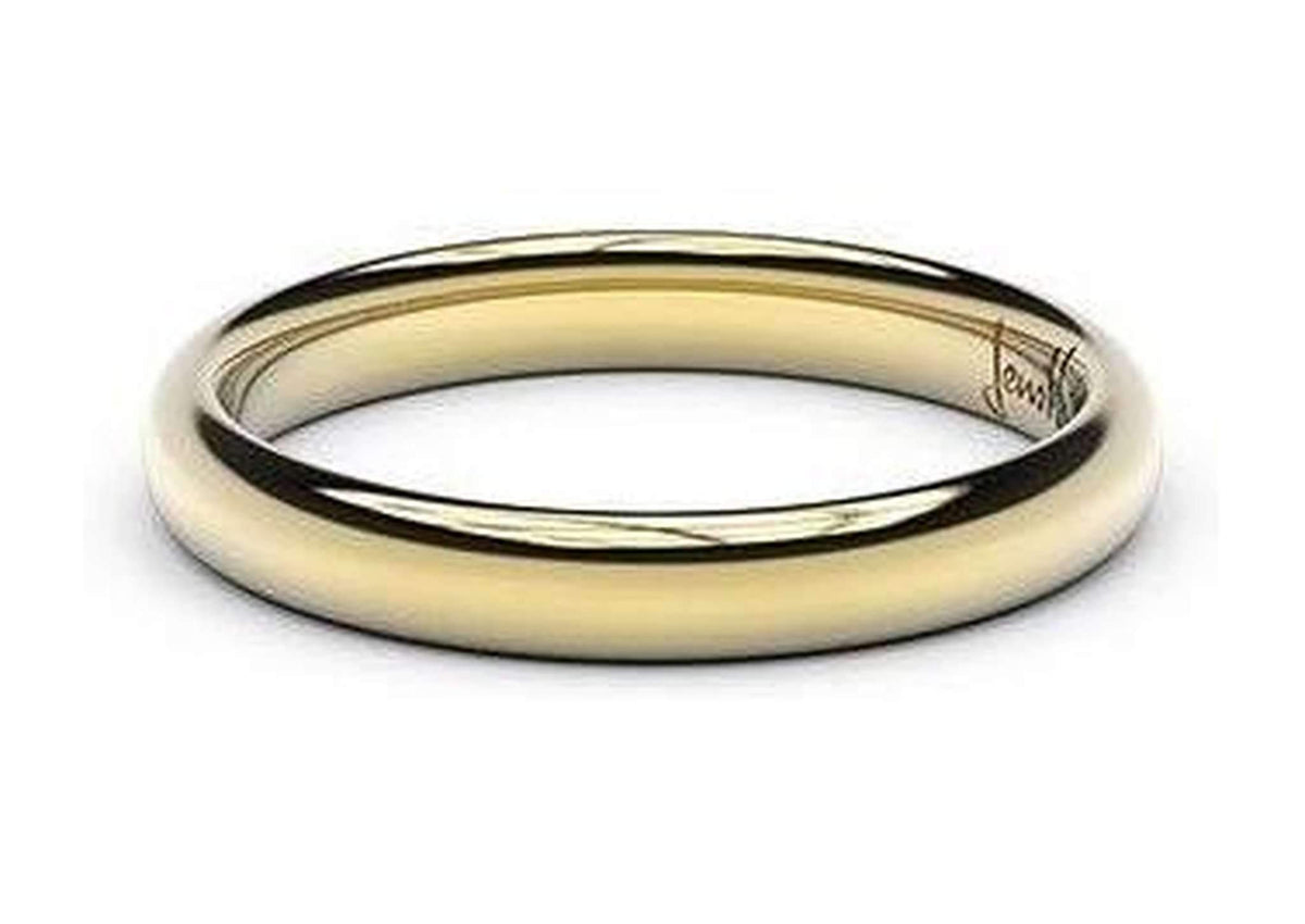 Petite Replica Ring - 3mm wide, 14ct Yellow Gold