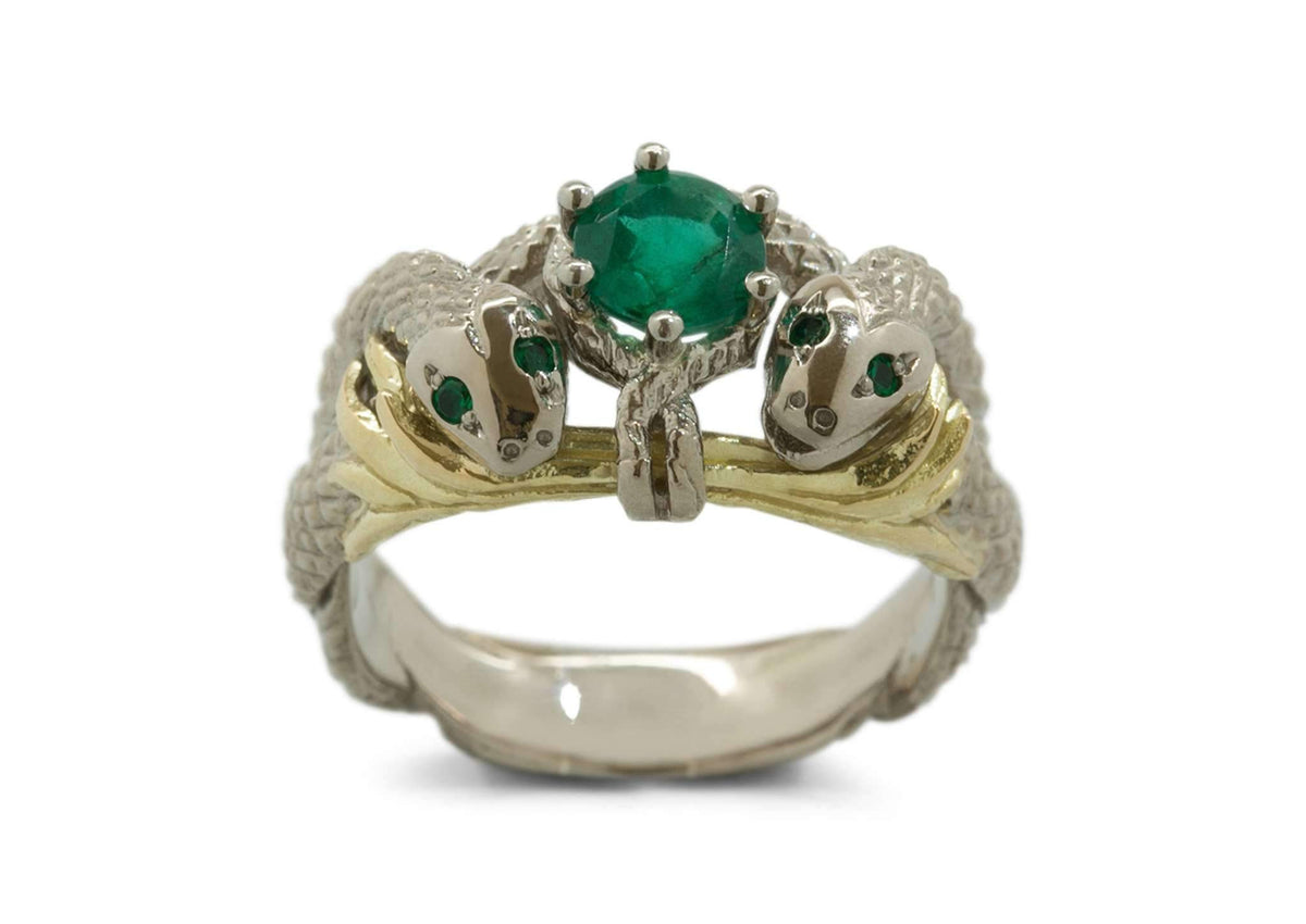 Our Ring for Viggo, Natural Emerald