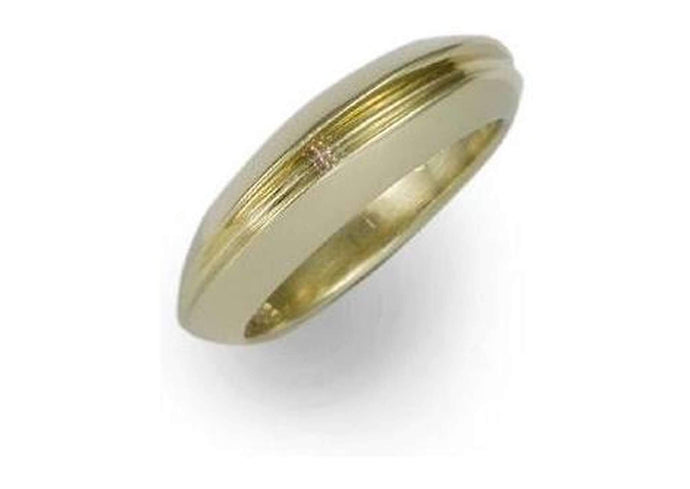 9ct Gold Dome & Valley Ring   - Jens Hansen
