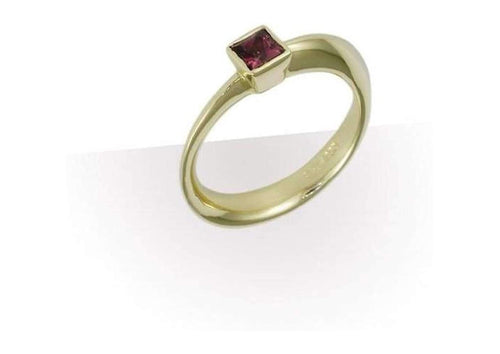 18ct Gold & African Spinel Ring Design   - Jens Hansen