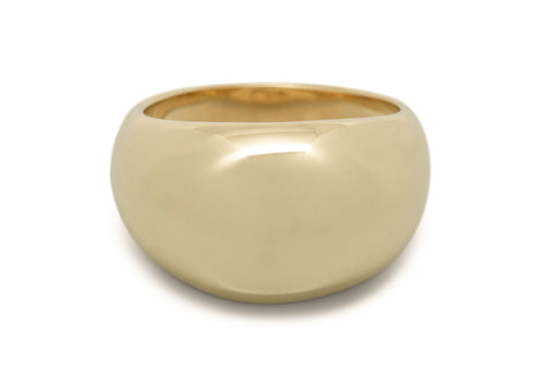 Dome Ring, Yellow Gold
