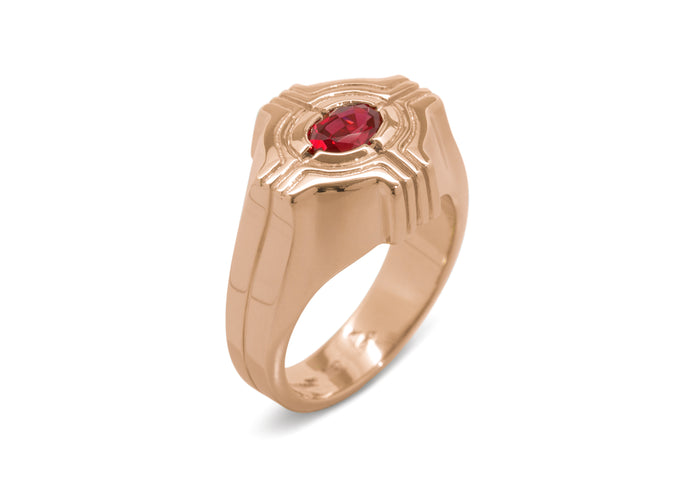 Our Ring for Sir Ian, Red Gold