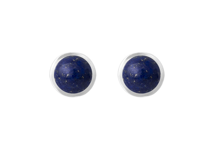 Circus earrings in Sterling silver with Blue Lapis