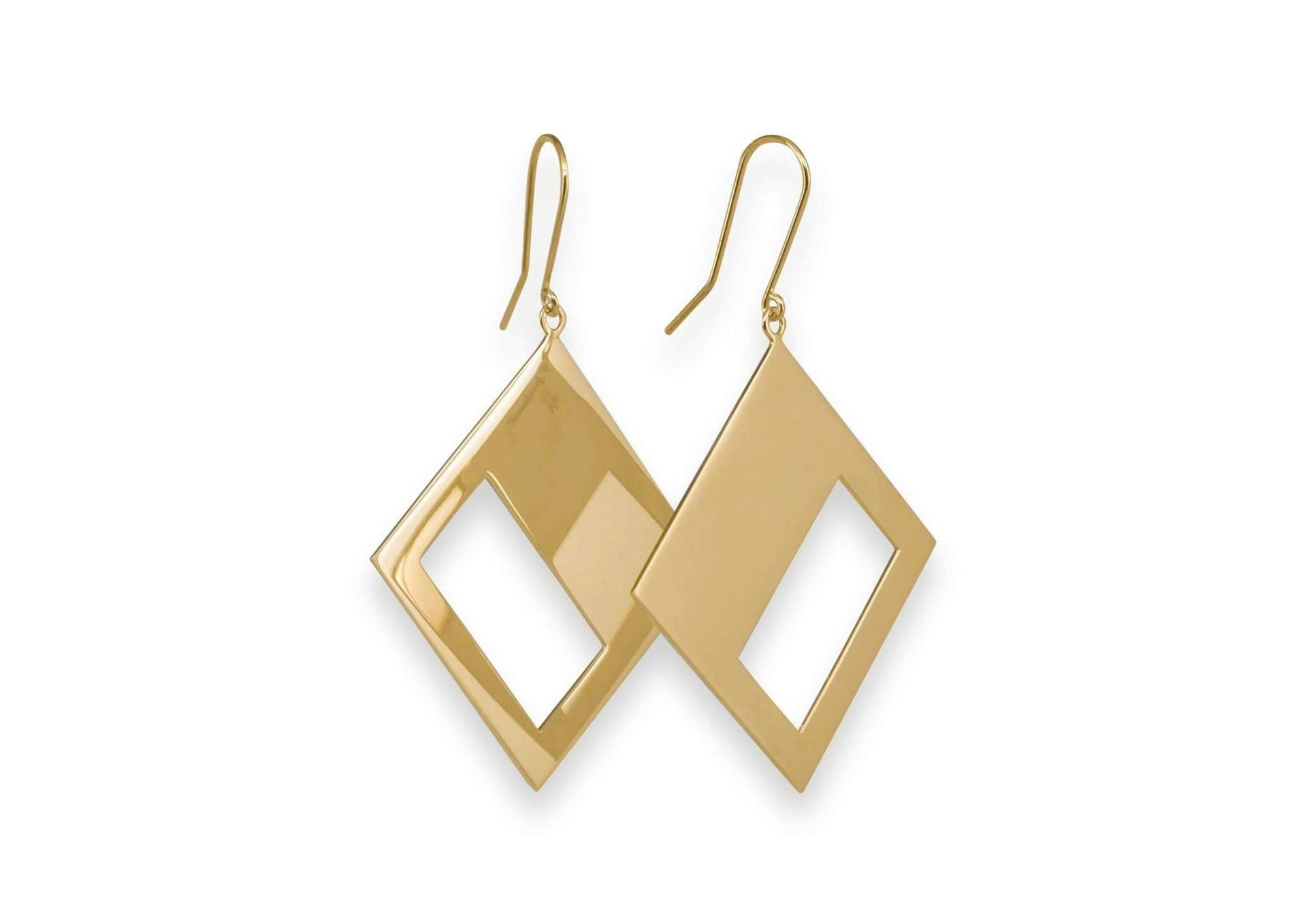 2019 Legacy Portrait Earrings, Yellow Gold