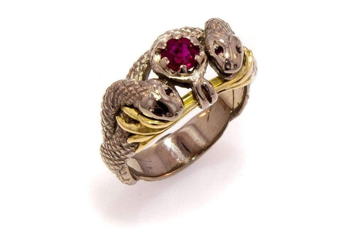 Our Ring for Viggo, Natural Ruby   - Jens Hansen
