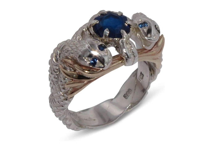 Our Ring for Viggo, Natural Sapphire   - Jens Hansen