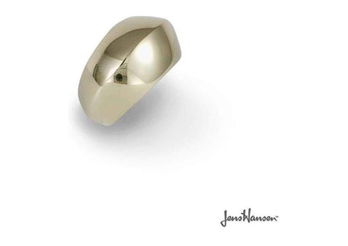 9ct Gold Dome Dress Ring   - Jens Hansen
