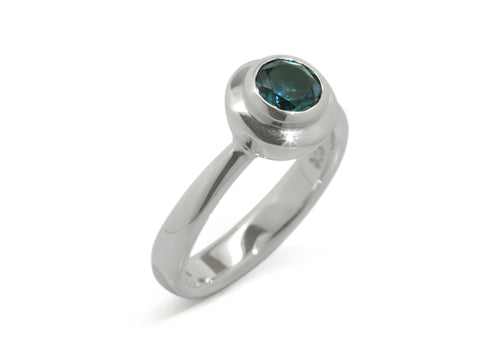 Sumptuous Gemstone Ring, Sterling Silver
