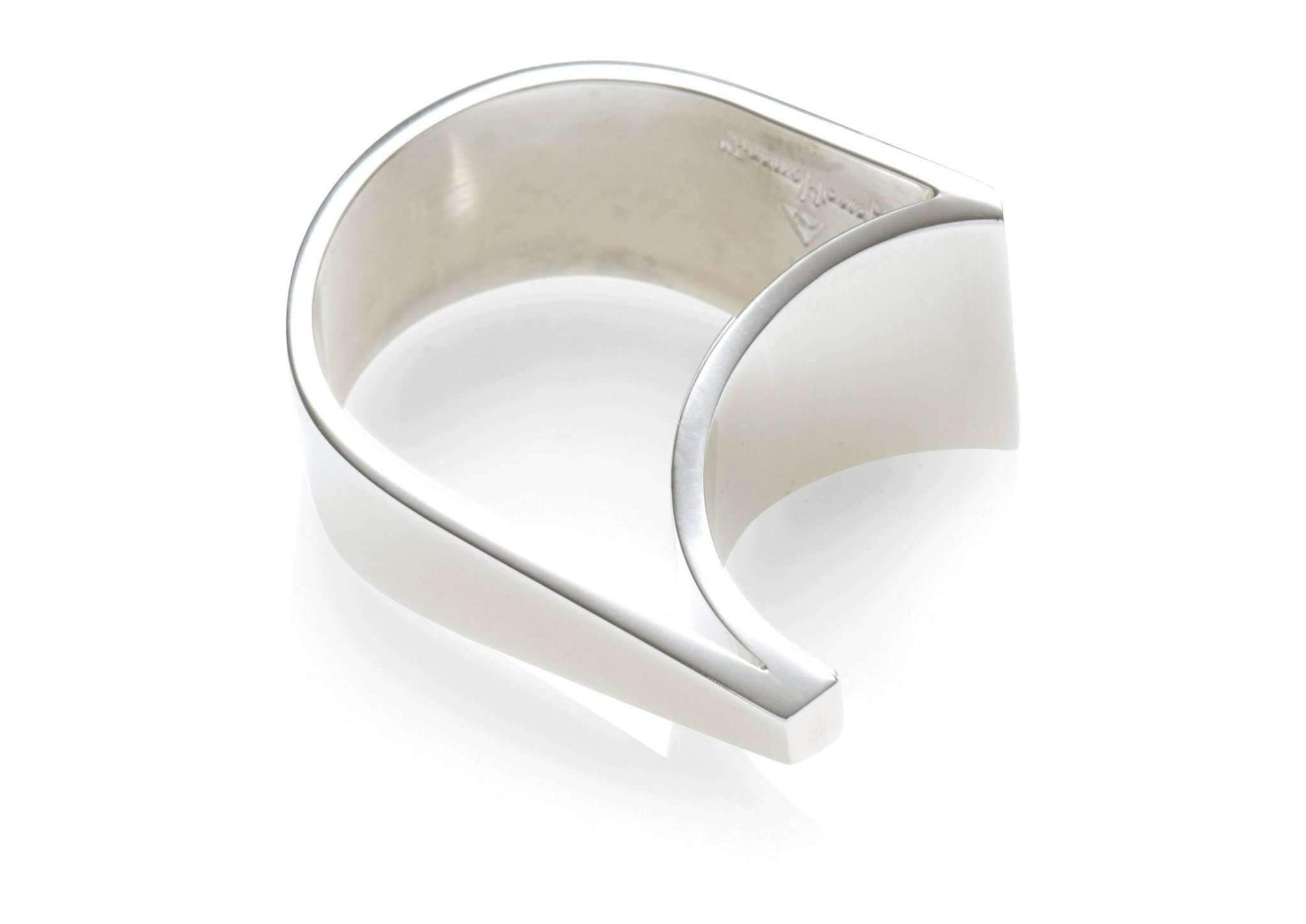 2008 Foundation Release Sterling Silver Asymmetrical Ring   - Jens Hansen - 1