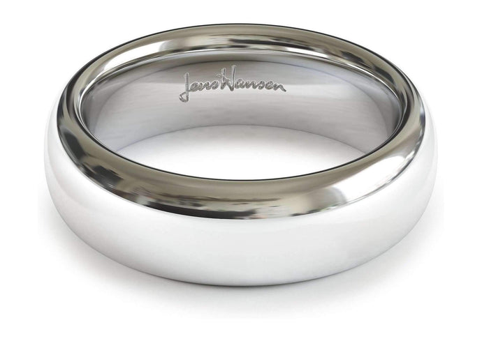 9ct White Gold   - Jens Hansen