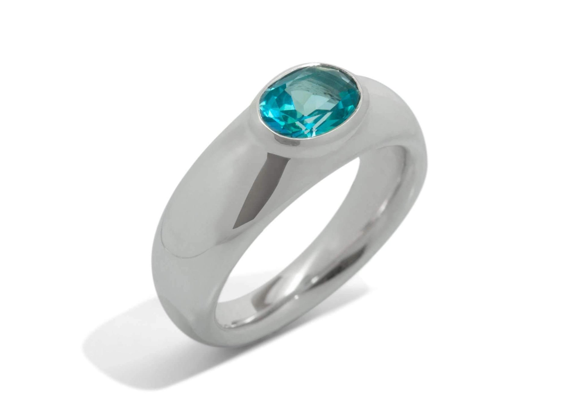 Splendid Gemstone Ring, Sterling Silver