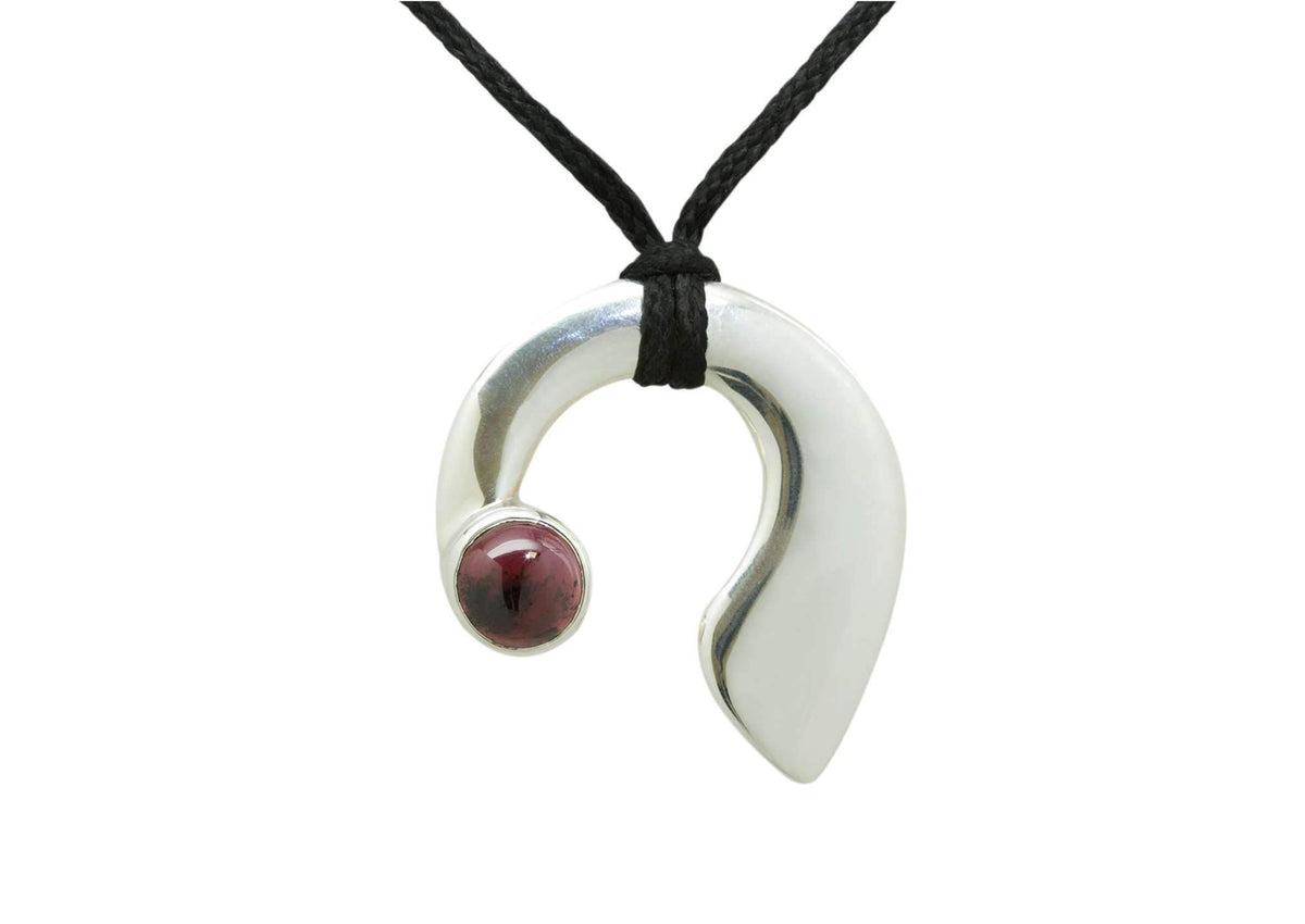 Gemstone Pendant, Sterling Silver