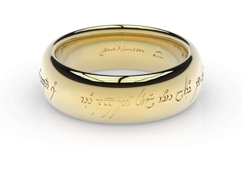 Elvish Love Ring - Yellow Gold - Jens Hansen