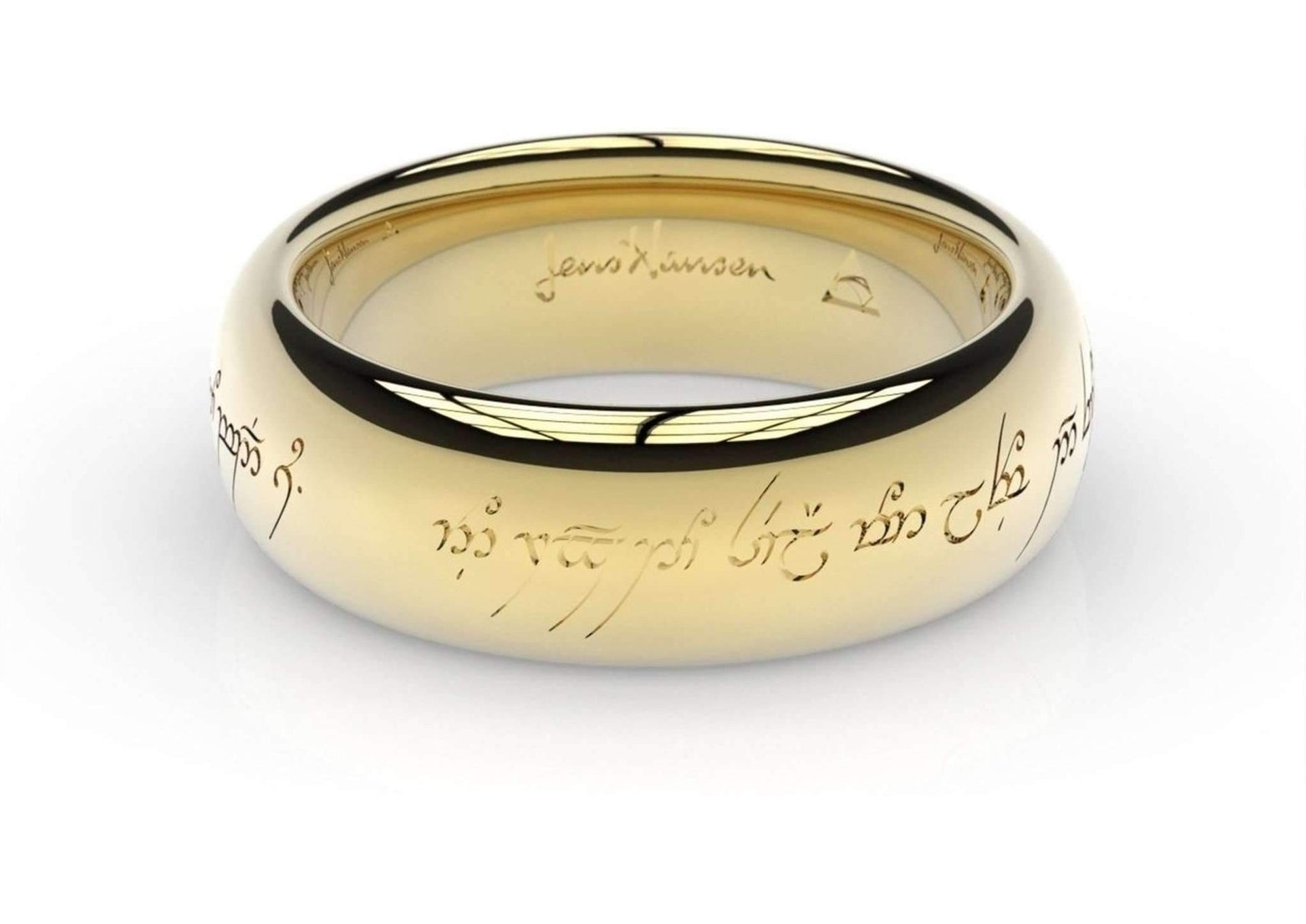 Elvish Love Ring Yellow Gold Jens Hansen