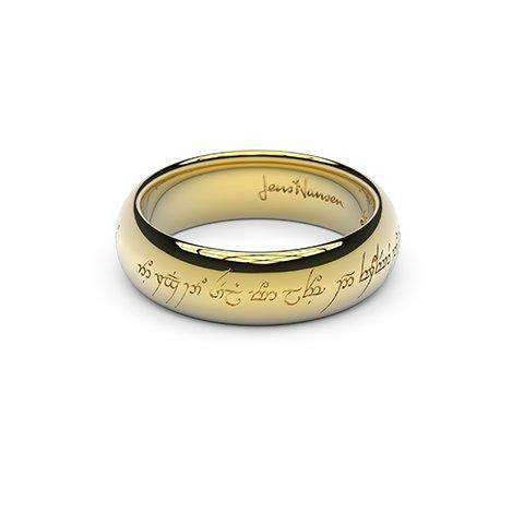 Little replica Ring, 9ct Yellow Gold