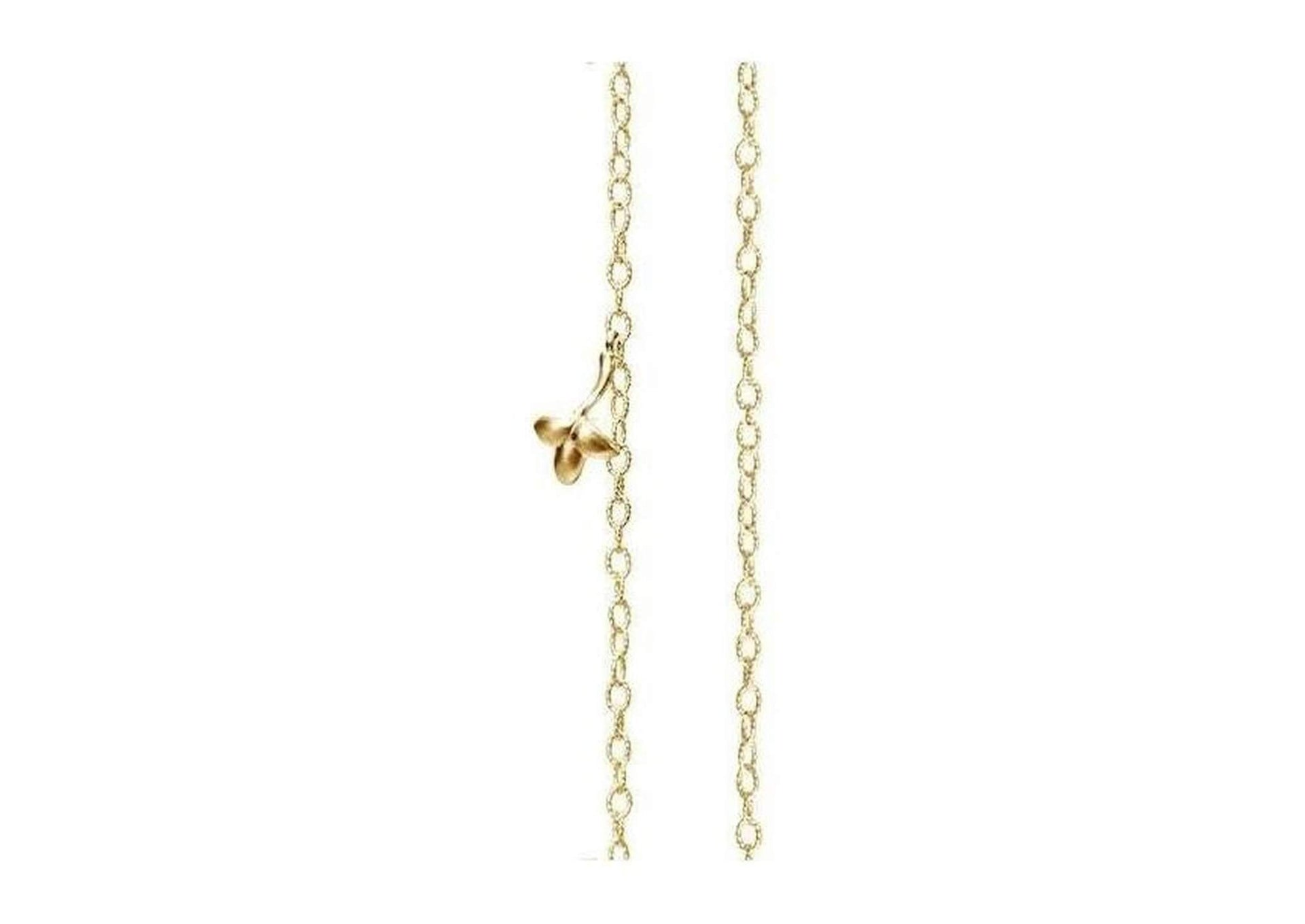 Lotus collier in 18K yellow gold-by-Ole Lynggaard-from official stockist-Jens Hansen