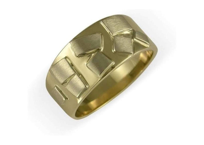 18ct Yellow & White gold ring   - Jens Hansen