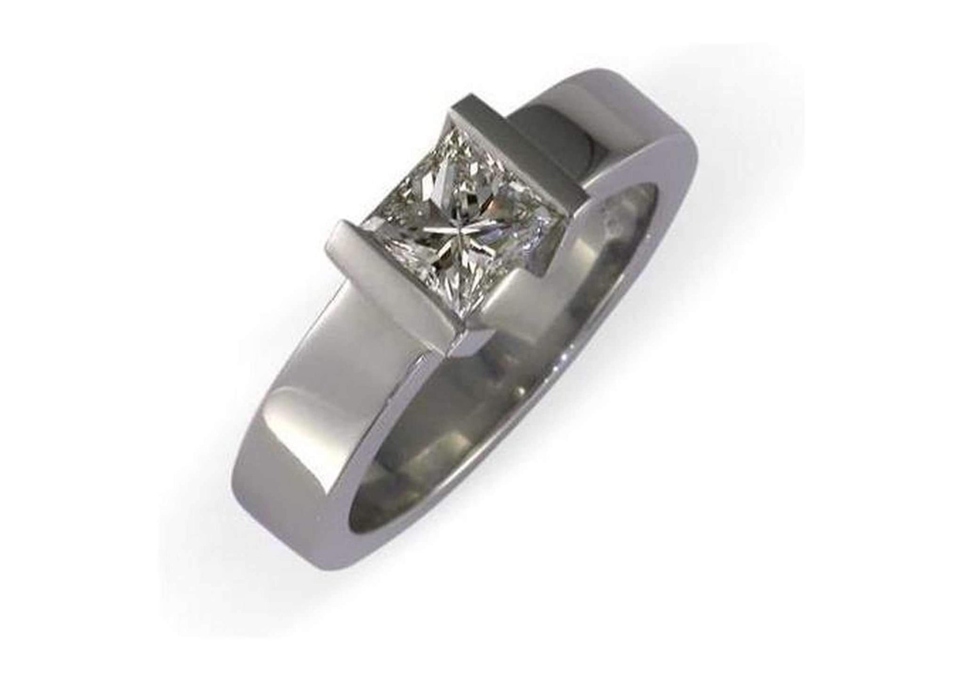 Platinum & Diamond Ring   - Jens Hansen - 1