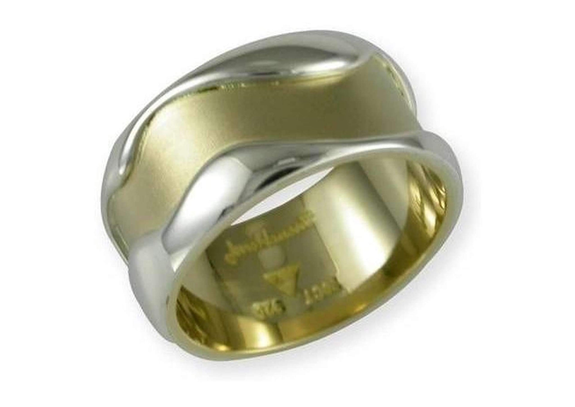 18ct gold and Sterling silver band   - Jens Hansen
