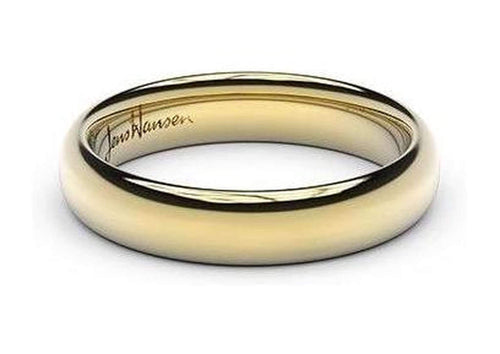Petite Replica Ring - 4mm wide, 14ct Yellow Gold