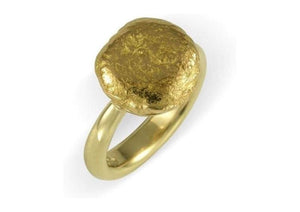 18ct & New Zealand Gold Nugget Ring   - Jens Hansen