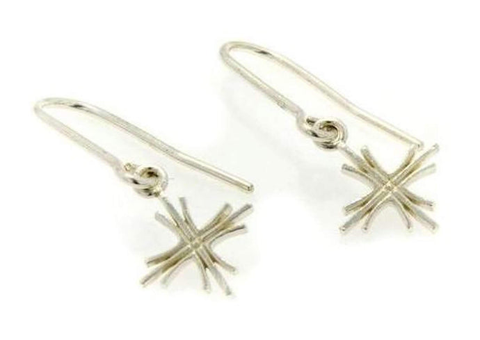 Sterling Silver Cross Earrings   - Jens Hansen