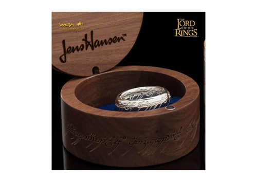Bilbo Ring : The One Ring - Sterling Silver (with Elvish Runes)   - Jens Hansen - 3