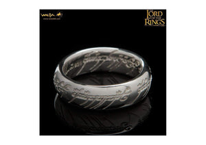 Bilbo Ring : The One Ring - Sterling Silver (with Elvish Runes)   - Jens Hansen - 1