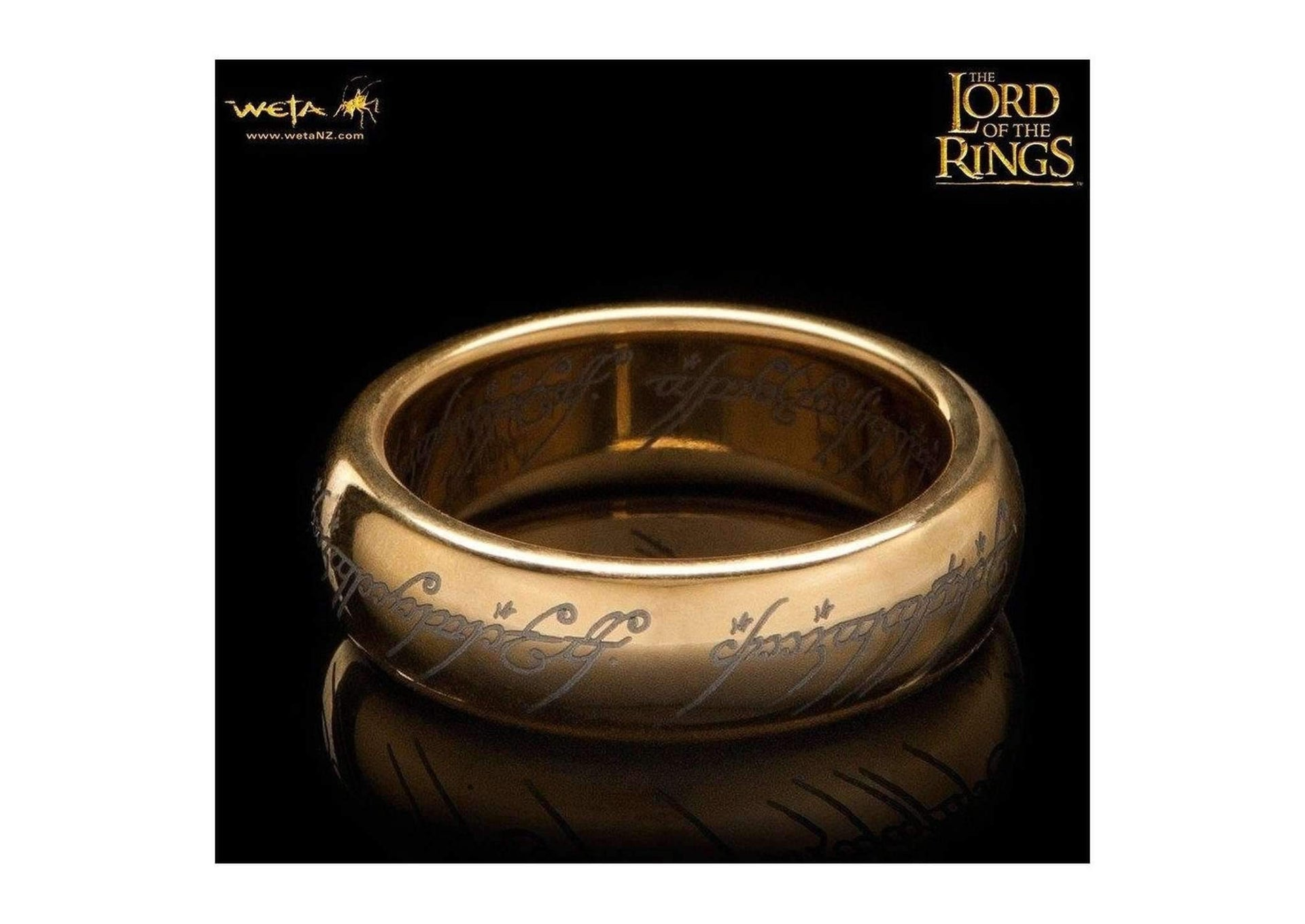 of one ring rings tungsten the gold with lord carbide plated products