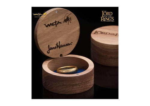 The Lord of the Rings: The One Ring: Gold Plated Tungsten Carbide (with Elvish runes)   - Jens Hansen - 3