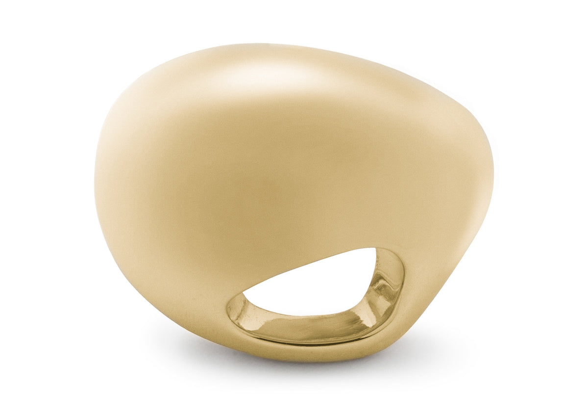 The Secret Kiwi Ring, Yellow Gold