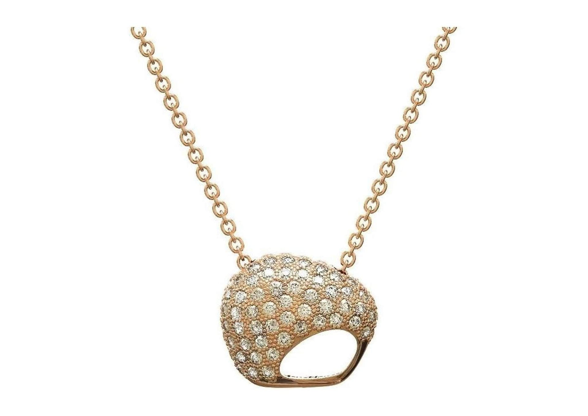 The Golden Kiwi, Red Gold with Diamonds