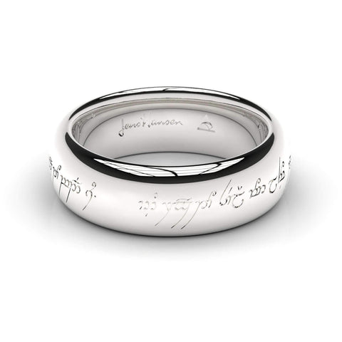 Elvish Love Ring White Gold, Palladium and Platinum   - Jens Hansen