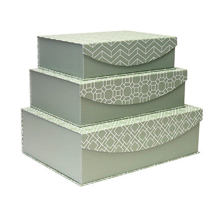Nesting Boxes - Green
