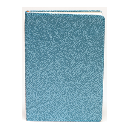 Metallic Pebble Blue Journal