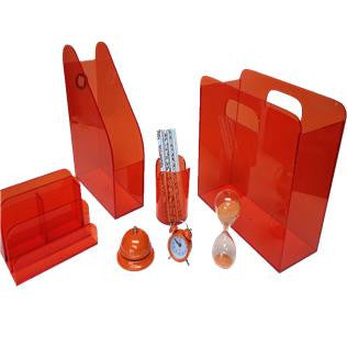 Orange Acrylic Set