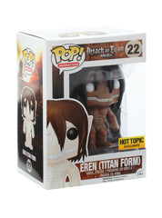 Attack On Titan Pop! Animation Eren Vinyl HT Exclusive