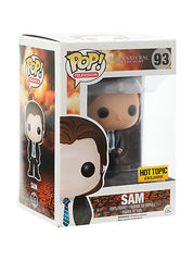 Supernatural Pop! FBI Sam Vinyl Figure Hot Topic Exclusive