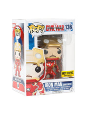 Capt America: Civil War Pop! Iron Man (Unmasked) Hot Topic Excl