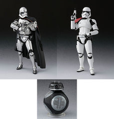 S.H. Figuarts SW Capt Phasma & F/Order Trooper Set With BB-9E