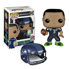 NFL Russell Wilson Wave 1 Pop! Vinyl Figure