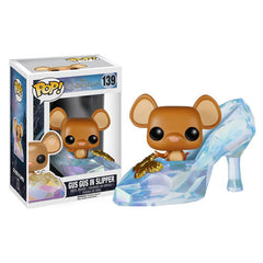 Cinderella Live Action Movie Gus in Slipper Pop! Vinyl Figure