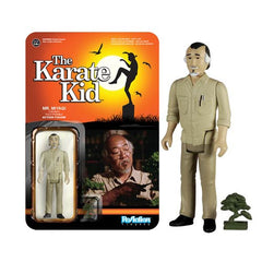 Karate Kid Mr. Miyagi ReAction 3 3/4-Inch Retro Action Figure