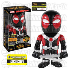 Deadpool Black/Red Premium Hikari Sofubi Vinyl Figure  Exc
