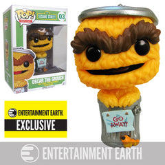 Oscar the Grouch Orange Debut Pop! Vinyl Figure - EE Exclusive