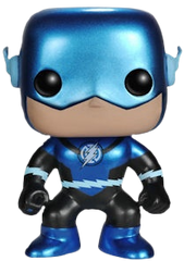 Flash - Blue Lantern Metallic Flash Pop! Vinyl Figure