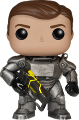 Fallout - Power Armor Unmasked Pop! Vinyl Figure NYCC