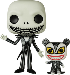 Nightmare Before Christmas NBX - Jack w Teddy Pop! NYCC