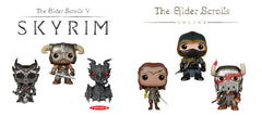 ELDER SCROLLS V SKYRIM & ONLINE POP! BUNDLE
